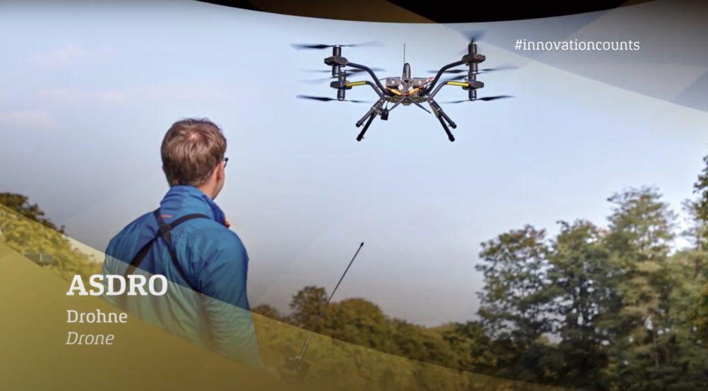 Drohnen-Start-up Asdro mit German Innovation Award 2020 ausgezeichnet